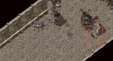 巧用暗黑传奇手游中游击战术,帮助战士打赢道士!